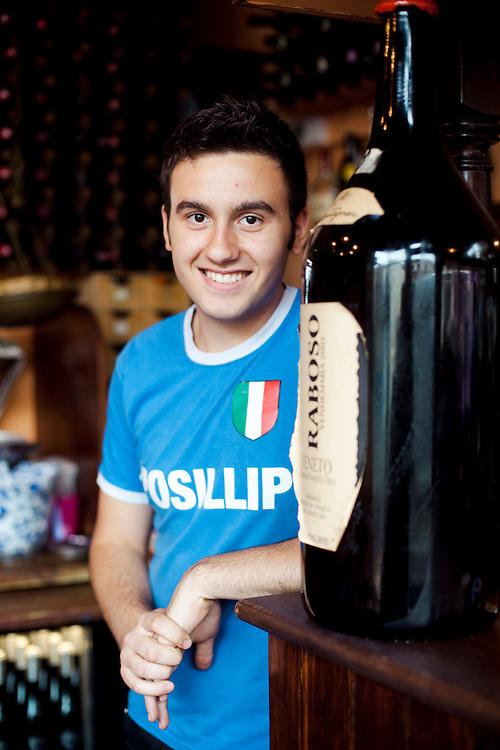 Francesco Di Girolamo, 20, Posillipo Restaurant, Broadstairs, Kent