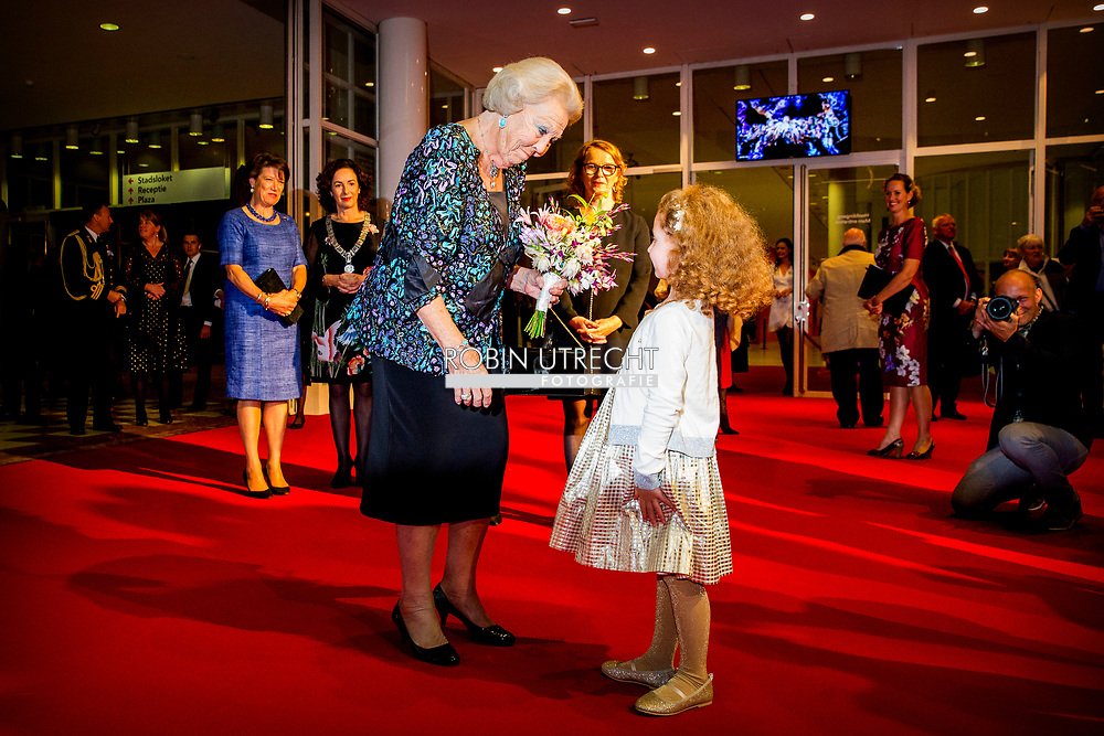 30-9-2018 AMSTERDAM - Princess Beatrix attends the 30-year performance of Pierre Audi and De Nationale Opera. Audi takes leave after thirty years as director of Dutch National Opera. He continues as general director of the French Festival d'Aix-en-Provence. copyright robin utrecht
