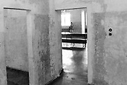 Dachau concentration camp. The museum.<br /> July 2013.