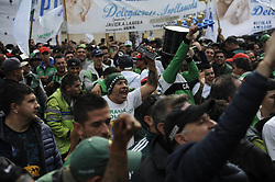 April 30, 2019 - Buenos Aires, Argentina - Ahead of May 1st International Workers' Day, some of Argentina's most powerful labor unions called for a national strike to protest the government's economic policy by shutting down flights, the metro and banks. (Credit Image: © Gabriel Sotelo/NurPhoto via ZUMA Press)