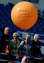 21-10-2007 ATLETIEK: ANA BEIJING MARATHON: BEIJING CHINA<br /> De Beijing Olympic Marathon Experience georganiseerd door NOC NSF en ATP is een groot succes geworden / Vele Oranje supporters langs de marathon en in het Olympic Sports Center Stadium<br /> ©2007-WWW.FOTOHOOGENDOORN.NL