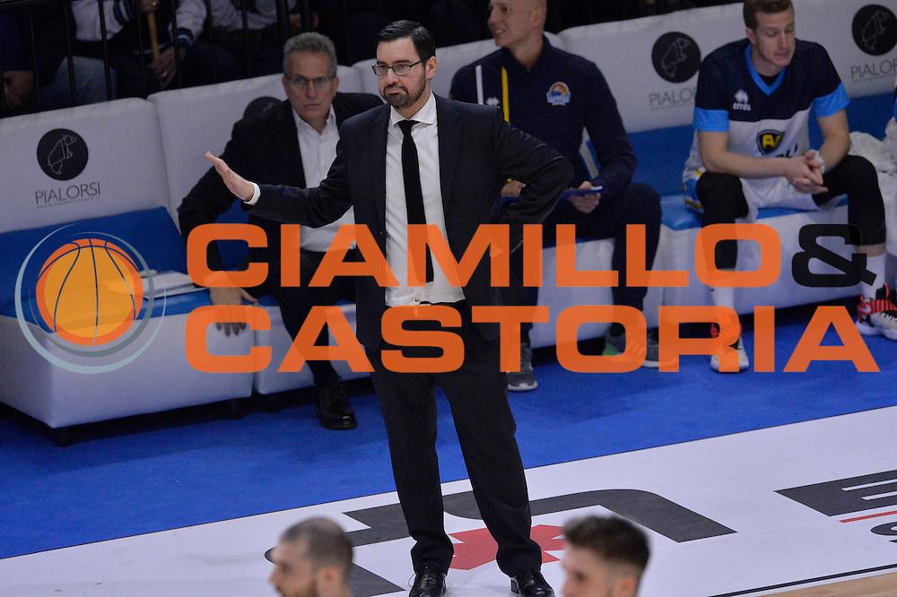 Paolo Lepore<br /> Vanoli Cremona - Sidigas Avellino<br /> Lega Basket Serie A 2016/2017<br /> Cremona, 18/12/2016<br /> Foto Ciamillo-Castoria