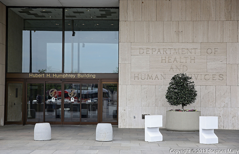 The United States Department of Health and Human Services at the Hubert H. Humphrey Building in Washington, DC on Monday, April 15, 2013.