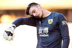 Nick Pope of Burnley - Mandatory by-line: Robbie Stephenson/JMP - 25/08/2019 - FOOTBALL - Molineux - Wolverhampton, England - Wolverhampton Wanderers v Burnley - Premier League
