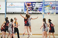 06/08/2017  Premier League women Semi Final Norwood Flames vs Eastern Mavericks at the Adelaide Hills Rec centre. Photos By AllStar Photos.