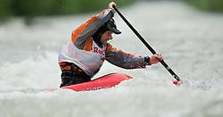 AUT, ECA Kayak Freestyle European Championships im Bild Krummreich Fabian, GER, Canadien Men, #61, EXPA Pictures © 2010, PhotoCredit: EXPA/ J. Feichter