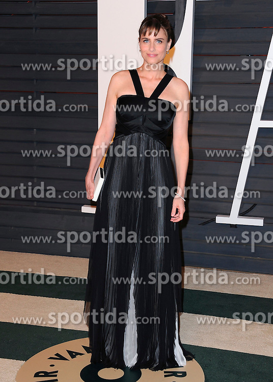 22.02.2015, Wallis Anneberg Center for the Performing Arts, Beverly Hills, USA, Vanity Fair Oscar Party 2015, Roter Teppich, im Bild Amanda Peet // during the red Carpet of 2015 Vanity Fair Oscar Party at the Wallis Anneberg Center for the Performing Arts in Beverly Hills, United States on 2015/02/22. EXPA Pictures &copy; 2015, PhotoCredit: EXPA/ Newspix/ PGSK<br /> <br /> *****ATTENTION - for AUT, SLO, CRO, SRB, BIH, MAZ, TUR, SUI, SWE only*****
