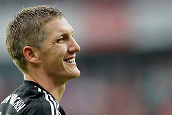05.05.2012, Rhein Energie Stadion, Koeln, GER, 1. FC Koeln vs FC Bayern Muenchen, 34. Spieltag, im Bild Bastian SCHWEINSTEIGER (FC Bayern Muenchen - 31) Portrait lacht Emotionen, Emotion // during the German Bundesliga Match, 34th Round between 1. FC Cologne and Bayern Munich at the Rhein Energie Stadium, Cologne, Germany on 2012/05/05. EXPA Pictures © 2012, PhotoCredit: EXPA/ Eibner/ Gerry Schmit..***** ATTENTION - OUT OF GER *****
