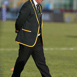 PADUA, ITALY - NOVEMBER 22: Heyneke Meyer (Head Coach) of South Africa during the Castle Lager Outgoing Tour match between Italy and South African at Stadio Euganeo on November 22, 2014 in Padua, Italy. (Photo by Steve Haag/Gallo Images)