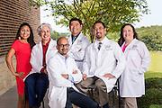 Melinda Riggins, Dr. Gurpreet Gill, Dr. Vasu Nalajala, Dr. Rey Marquion, Dr. Paul Kim, Gloria Gray, AIM Mid-Cities, Bedford Texas, Recognition Awards 2014