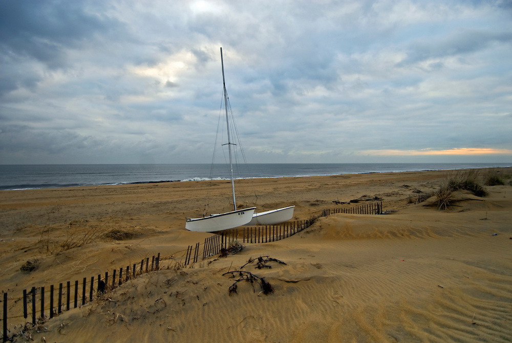Virginia, Virginia Beach, boat, sand