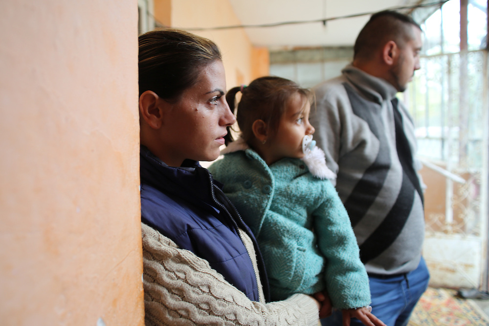 Razvan, his sister Ribenna and his niece