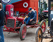 Fort Nelson Heritage Museum, 5553 Alaska Highway, Fort Nelson, British Columbia, Canada. This quirky museum features a highway construction display, pioneer artifacts, trapper's cabin, vintage autos & machinery, a white moose, and more.