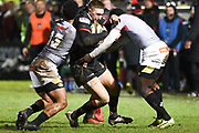 Dougie Fife during the Guinness Pro 14 2017_18 match between Edinburgh Rugby and Southern Kings at Myreside Stadium, Edinburgh, Scotland on 5 January 2018. Photo by Kevin Murray.