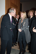SANDY NAIRNE; KATE MOSS, Opening of Bailey's Stardust - Exhibition - National Portrait Gallery London. 3 February 2014