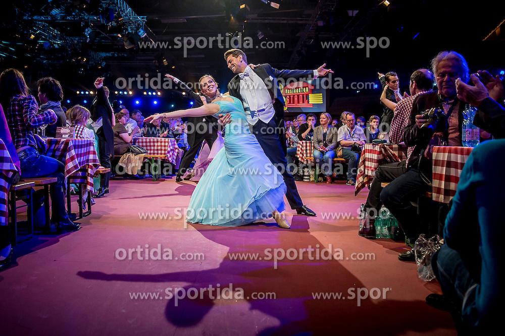 27.03.2015, Messehalle, Oberwart, AUT, Musikantenstadl in Oberwart - Generalprobe, im Bild das Fernsehballet während der Generalprobe des 'Musikantenstadl' // TV-Ballett during the dress rehearsel of the show 'Musikantenstadl' at the Fair Hall, Oberwart, Austria on 2015/03/27, EXPA Pictures © 2015, PhotoCredit: EXPA/ Erwin Scheriau