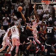 21 December 2017: The San Diego State men's basketball team hosts the 12/15 Gonzaga Bulldogs . The Aztecs beat the Bulldogs 72-70 at Viejas Arena. www.sdsuaztecphotos.com