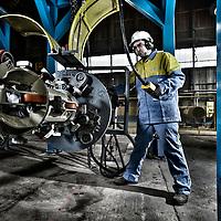 Tata Steel Hartlepool - Macinery for windturbine manufacturing