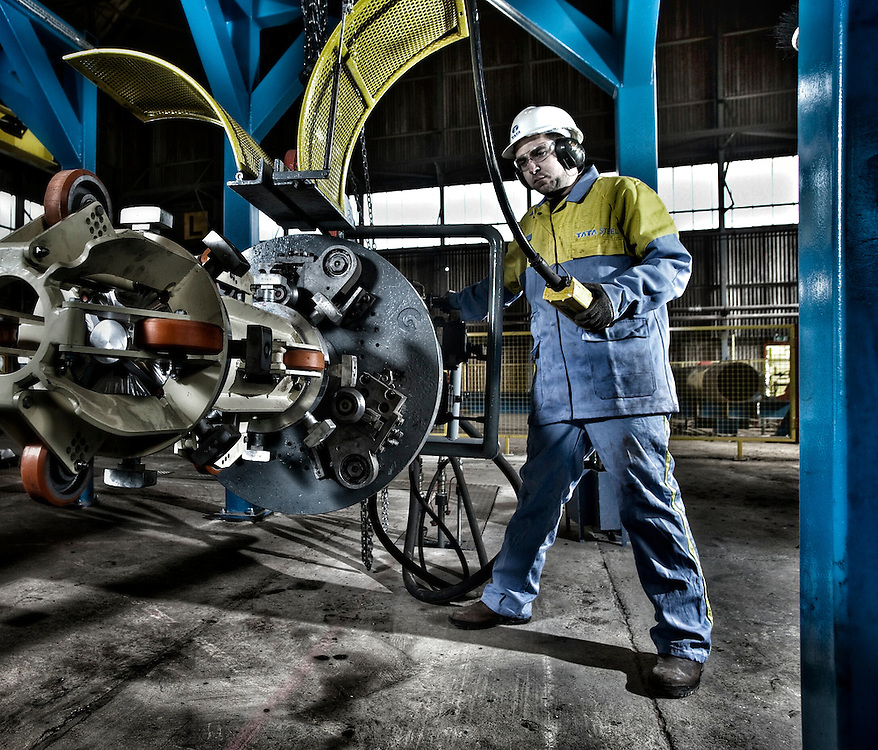 Tata Steel Hartlepool - Macinery for windturbine manufacturing