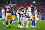 Cincinnati Bengals Wide receiver Damion Willis (15) during the International Series match between Los Angeles Rams and Cincinnati Bengals at Wembley Stadium, London, England on 27 October 2019.
