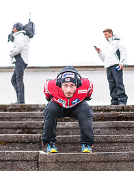01.01.2018, Olympiaschanze, Garmisch Partenkirchen, GER, FIS Weltcup Ski Sprung, Vierschanzentournee, Garmisch Partenkirchen, Wertungsdurchgang, im Bild Manuel Fettner (AUT) // Manuel Fettner of Austria before the Competition Jump for the Four Hills Tournament of FIS Ski Jumping World Cup at the Olympiaschanze in Garmisch Partenkirchen, Germany on 2018/01/01. EXPA Pictures © 2018, PhotoCredit: EXPA/ JFK