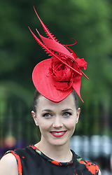 Victoria Pendleton at Ladies Day at Royal Ascot 2013, Thursday, 20th June 2013<br /> Picture by Stephen Lock / i-Images