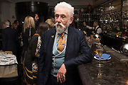 SIR ROY STRONG, John Swannell, The Caprice, London. , 5 February 2019
