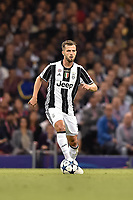Miralem Pjanic of Juventus during the UEFA Champions League Final match between Real Madrid and Juventus at the National Stadium of Wales, Cardiff, Wales on 3 June 2017. Photo by Giuseppe Maffia.<br /> <br /> Giuseppe Maffia/UK Sports Pics Ltd/Alterphotos
