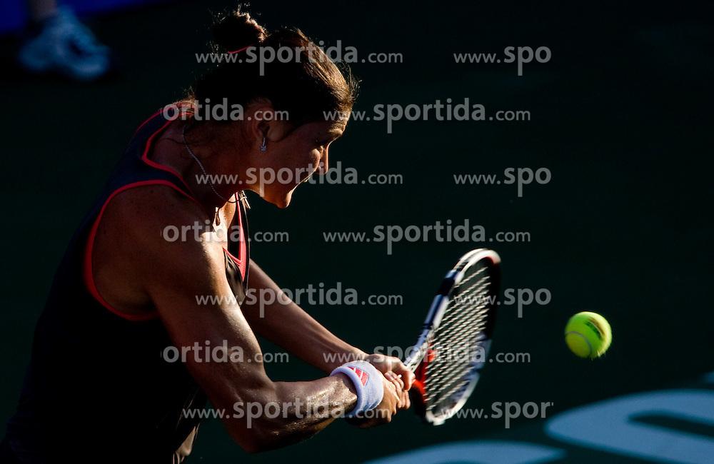 Best player of the world Dinara Safina of Russia at 1st Round of Banka Koper Slovenia Open WTA Tour tennis tournament, on July 20 2009, in Portoroz / Portorose, Slovenia. (Photo by Vid Ponikvar / Sportida)