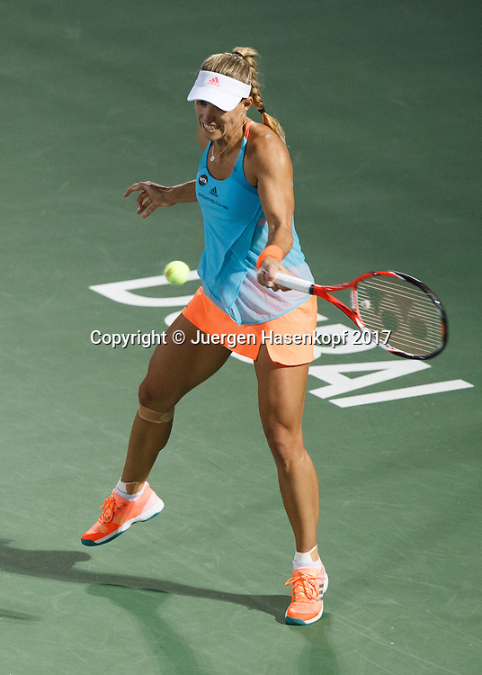 ANGELIQUE KERBER (GER)<br /> <br /> Tennis - Dubai Tennis Championships 2017 -  WTA -  Dubai Duty Free Tennis Stadium - Dubai  -  - United Arab Emirates  - 24 February 2017.