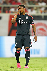 16.09.2015, Karaiskakis Stadium, Piräus, GRE, UEFA CL, Olympiakos Piräus vs FC Bayern München, Gruppe F, im Bild enttaeuschung bei Douglas Costa #11 (FC Bayern Muenchen) // during UEFA Champions League group F match between Olympiacos F.C. and FC Bayern Munich at the Karaiskakis Stadium in Piräus, Greece on 2015/09/16. EXPA Pictures © 2015, PhotoCredit: EXPA/ Eibner-Pressefoto/ Kolbert<br /> <br /> *****ATTENTION - OUT of GER*****