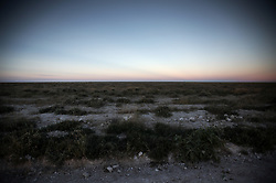NAMIBIA ETOSHA 28APR14 - Sunset over the salt pan of Etosha National Park, Namibia.<br /> <br /> <br /> <br /> jre/Photo by Jiri Rezac<br /> <br /> <br /> <br /> &copy; Jiri Rezac 2014