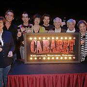 NLD/Amsterdam/20060116 - Persconferentie musical Cabaret, cast, Anne Wil Blankers, Chris Tates, Ara Halici, frederique Sluyterman van Loo, Wim van Rooij, Wim Bouwens, Bea Meulman, Pia Douwes, Kees van Lier