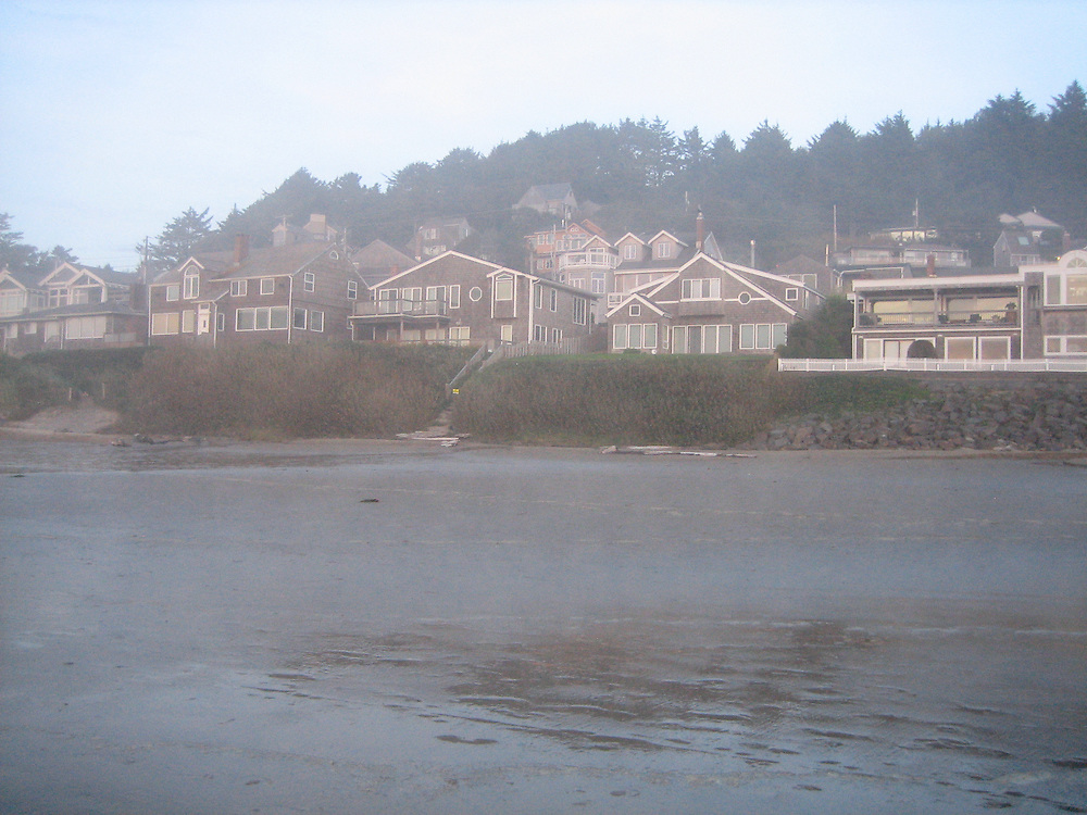 Misty Morning at Cannon Beach