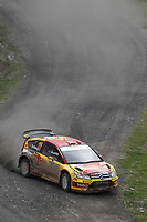 MOTORSPORT - WRC 2010 - RALLY OF TURKEY - <br /> ISTANBUL (TUR) - 15 TO 18/04/2010 - PHOTO : FRANCOIS BAUDIN / DPPI <br /> PETTER SOLBERG (NOR) / PHIL MILLS (GBR) - PETTER SOLBERG WRT - CITROEN C4 WRC - ACTION