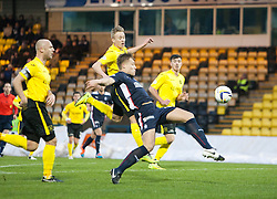 Falkirk's Peter Grant.<br /> Livingston 0 v 1 Falkirk, Scottish Championship played13/12/2014 at The Energy Assets Arena.