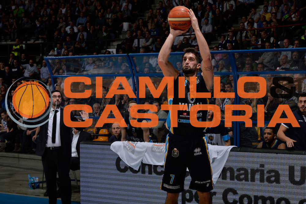 Fabio Mian<br /> Red October Pallacanestro Cantu - Vanoli Cremona<br /> Lega Basket Serie A 2016/2017<br /> Desio, 27/12/2016<br /> Foto Ciamillo-Castoria