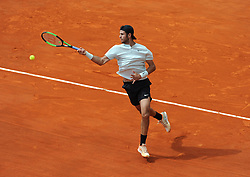 April 18, 2018 - Monaco - Tennis - Monaco - Karen Khachanov Russie (Credit Image: © Panoramic via ZUMA Press)