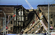 A 28 MG FILE FROM FILM OF:..The Pentagon three days after September 11th. photo by Dennis Brack