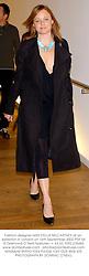 Fashion designer MISS STELLA McCARTNEY at an exhibtion in London on 16th September 2002.PDF 54