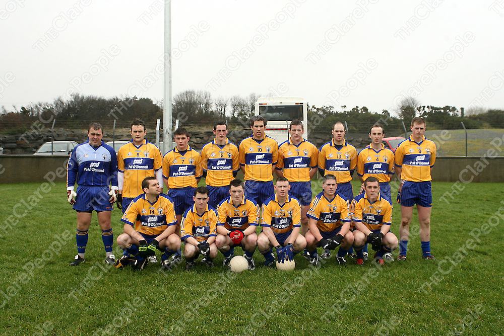 Clare McGrath Cup Team.<br /> Photograph by Yvonne Vaughan