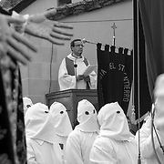 Good Friday of Holy Week. Bercianos de Aliste, Zamora, Spain