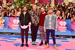 June 18, 2017 - Toronto, Ontario, Canada - (L-R) Imagine Dragons' WAYNE SERMON, DAN REYNOLDS, BEN MCKEE and DANIEL PLATZMAN arrive at the 2017 iHeartRADIO MuchMusic Video Awards at MuchMusic HQ on June 18, 2017 in Toronto, Canada. (Credit Image: © Igor Vidyashev via ZUMA Wire)