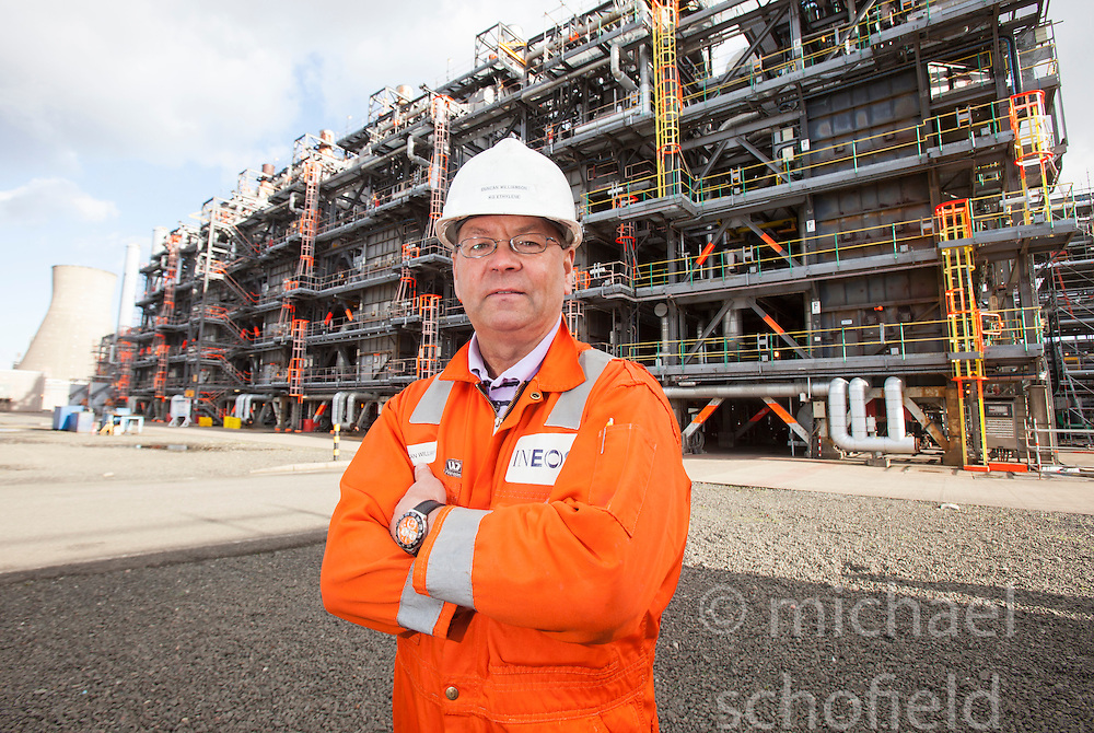 Duncan Williamson, KG cracker plant at the Grangemouth refinery. The Sun had access to the plant for a 'year on' tale (last year the plant closed following strike action - this is an update piece).