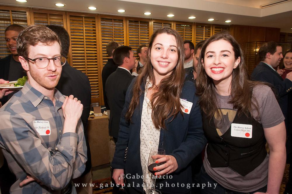 The Harvey School New York City Alumni Reunion at the Cornell Club on April 7, 2015. (photo by Gabe Palacio)