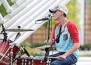 June 28, 2014: Air Line Road performs on the Great Lawn by ACM@UCO stage on day two of the OKC Fest music festival in the Myriad Botanical Gardens in downtown Oklahoma City, Oklahoma.
