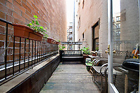 Patio at 319 East 105th Street