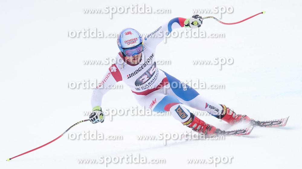 27.02.2015, Kandahar, Garmisch Partenkirchen, GER, FIS Weltcup Ski Alpin, Abfahrt, Herren, 2. Training, im Bild Mauro Caviezel (SUI) // Mauro Caviezel of Switzerland in action during the 2nd trainings run for the men's Downhill of the FIS Ski Alpine World Cup at the Kandahar course, Garmisch Partenkirchen, Germany on 2015/27/02. EXPA Pictures © 2015, PhotoCredit: EXPA/ Johann Groder