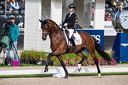 Möller Eva, GER, Espe<br /> World Championship Young Dressage Horses - Ermelo 2019<br /> © Hippo Foto - Dirk Caremans<br /> Möller Eva, GER, Espe