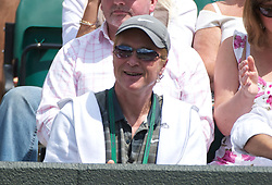 LONDON, ENGLAND - Saturday, July 2, 2011: Simon Broady, father of Liam Broady (GBR) during the Boys' Singles Final on day twelve of the Wimbledon Lawn Tennis Championships at the All England Lawn Tennis and Croquet Club. (Pic by David Rawcliffe/Propaganda)